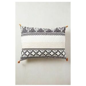 Anthropologie Enmore Embroidered Standard Shams
